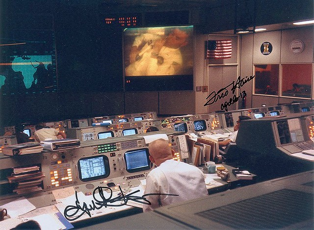 Apollo 13 Mission Control with Fred Haise and Gene Kranz