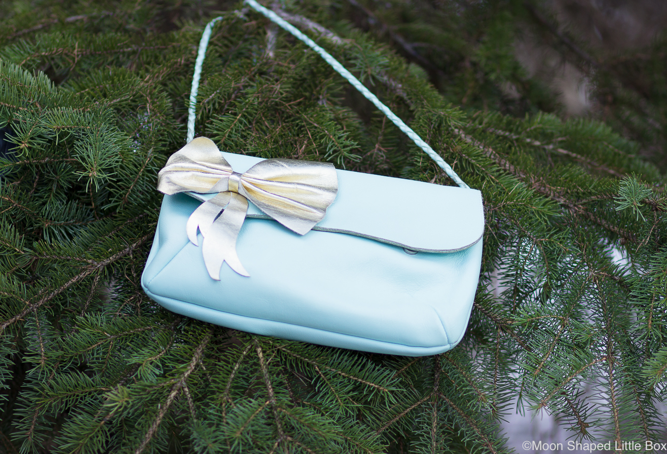 Cobblerina-rusettilaukku-minttu