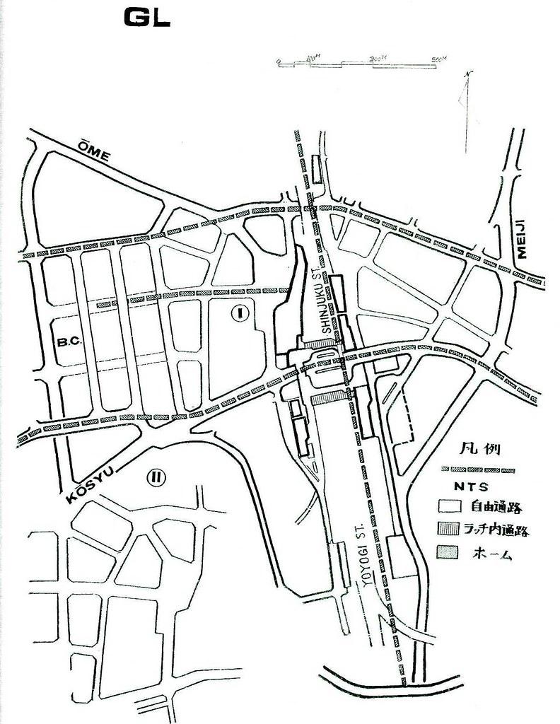 昭和48年の上越新幹線新宿駅ホーム構想 (25)