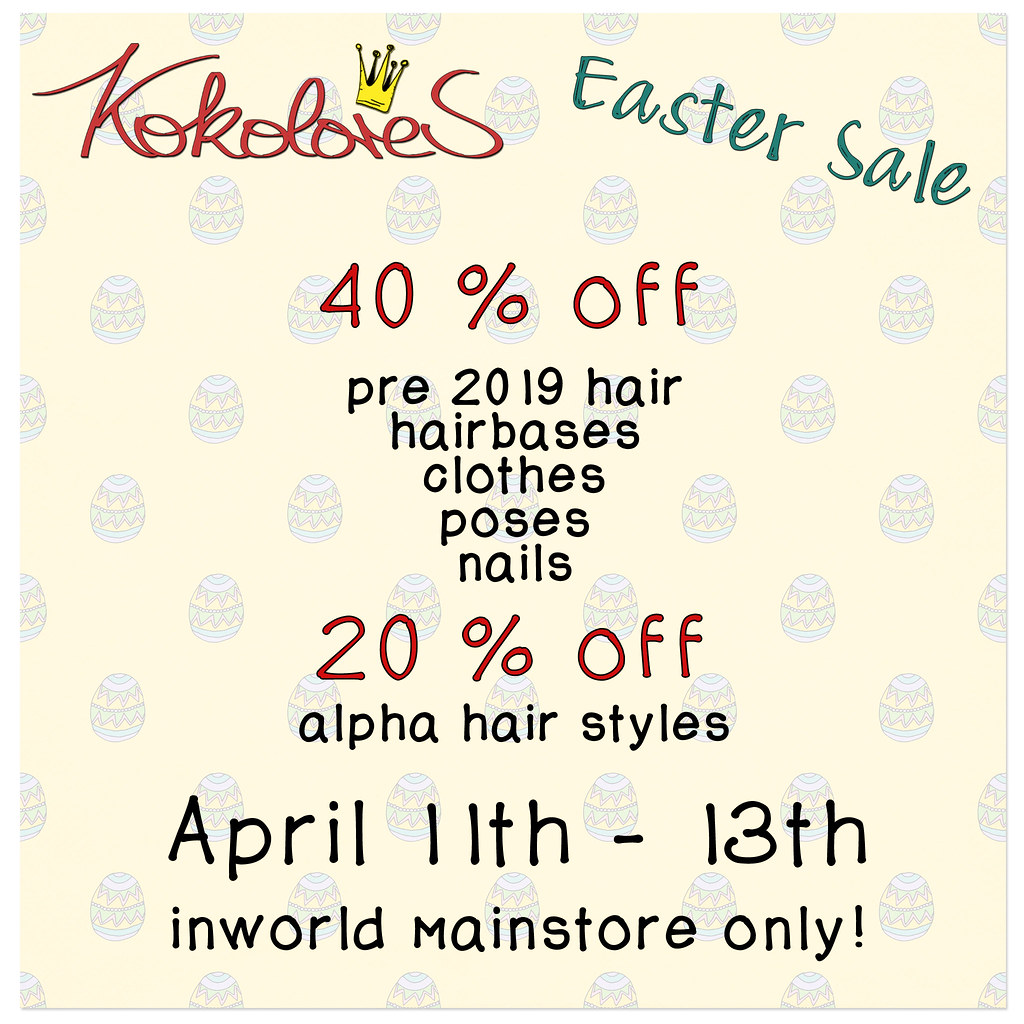 [KoKoLoReS] Easter Sale!
