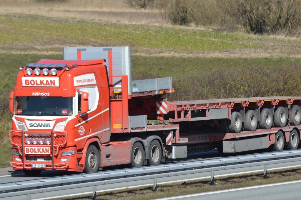 Scania New Generation V8 - Bolkan Trans Namsos - N  XR 65468