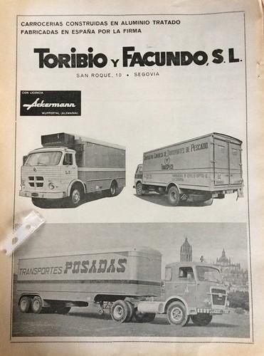 Publicitat carrosser Toribio i Facundo de Segòvia
