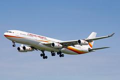 AMS - Airbus A340-313X (PZ-TCR) Surinam Airways