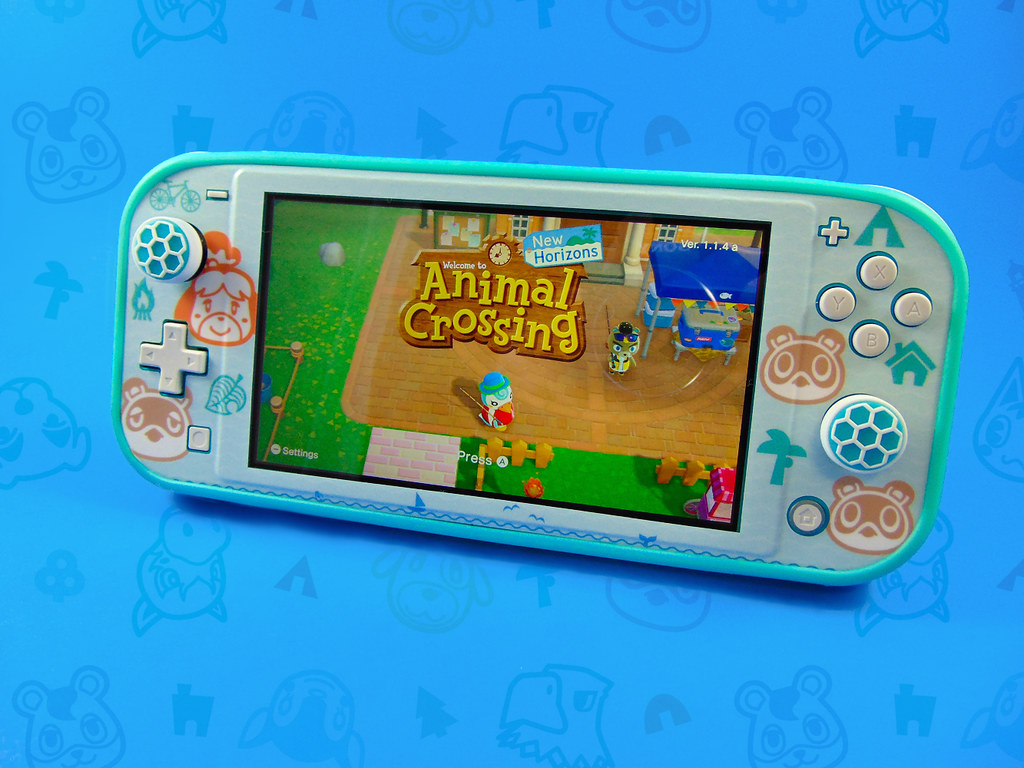 Animal Crossing New Horizons Outdoor Pattern Switch Lite Flickr