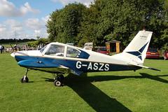 G-ASZS Socata GY-80-160 [70] Popham 120910