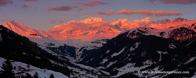 Mont-Blanc and French Alps