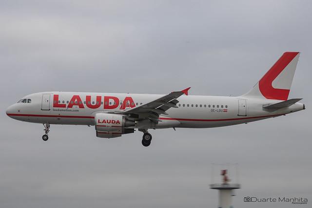LaudaMotion / Airbus A320-200 / OE-LOU