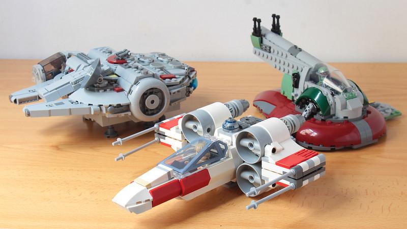 LEGO chibi X-Wing