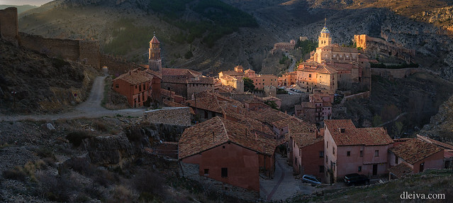 Panoramica de Albarracin, Teruel, Aragón