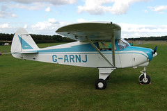 G-ARNJ Piper PA-22-108 [22-8587] Popham 120910