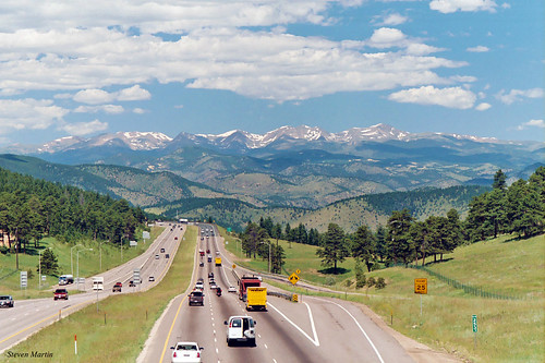 mountains landscape colorado motorway freeway mountainrange interstatehighway genesse