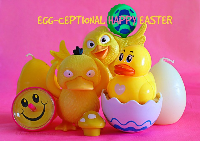 EGG-CEPTIONEL HAPPY EASTER