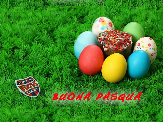 Buona Pasqua, amici e tifosi della Virtus