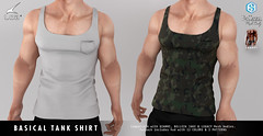 [LOB] BASICAL TANK SHIRT
