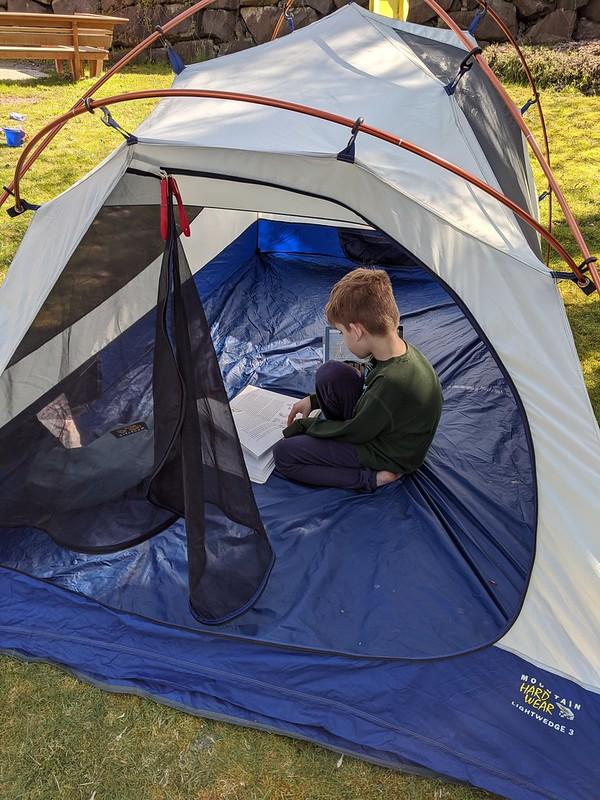 Reading Tent 2