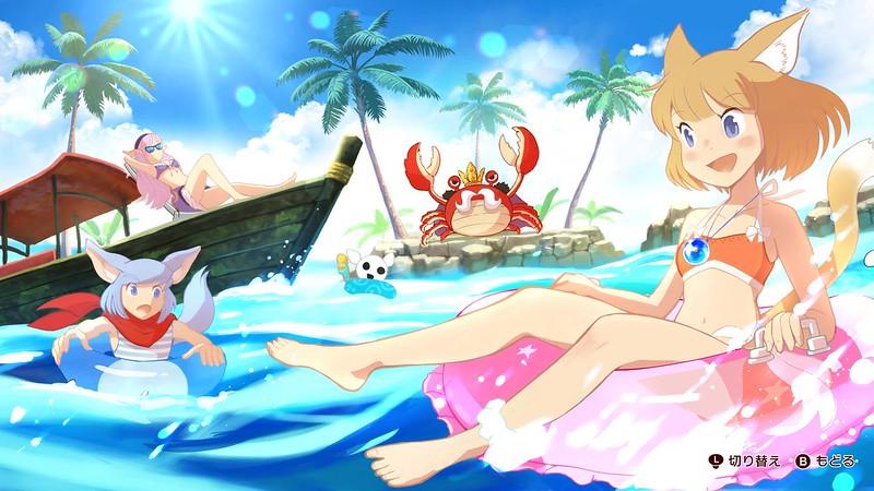 Annika and Giraffe - Divertimento in spiaggia