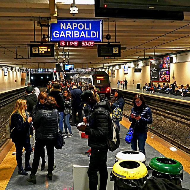 Napoli-Garibaldi, Campania, Italia