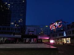 #nightshot #neon #art #sculpture #neonart #architecture