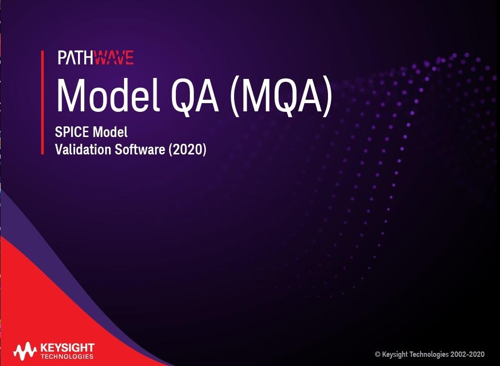 Keysight Model Quality Assurance (MQA) 2020 x64 full license