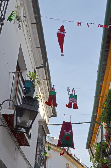 Santa's Clothes Hanging Out To Dry [Cordoba - 26 December 2019]