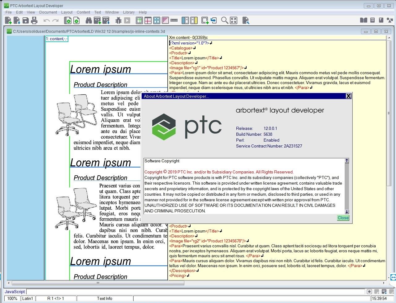 Working with PTC Arbortext Layout Developer 12.0.0.1 full license