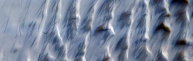 Mars - Hellas Region Sand Dune Changes