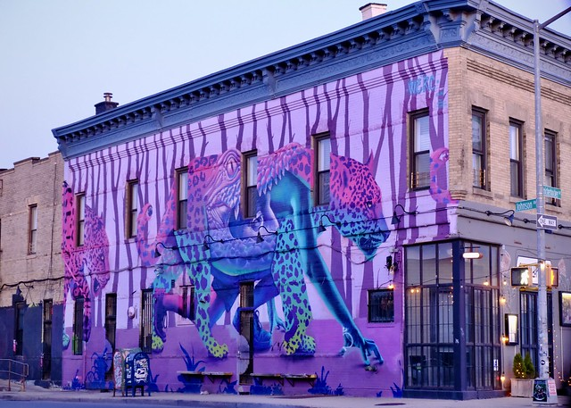 Mural by WERC (The Bushwick Collective #5)