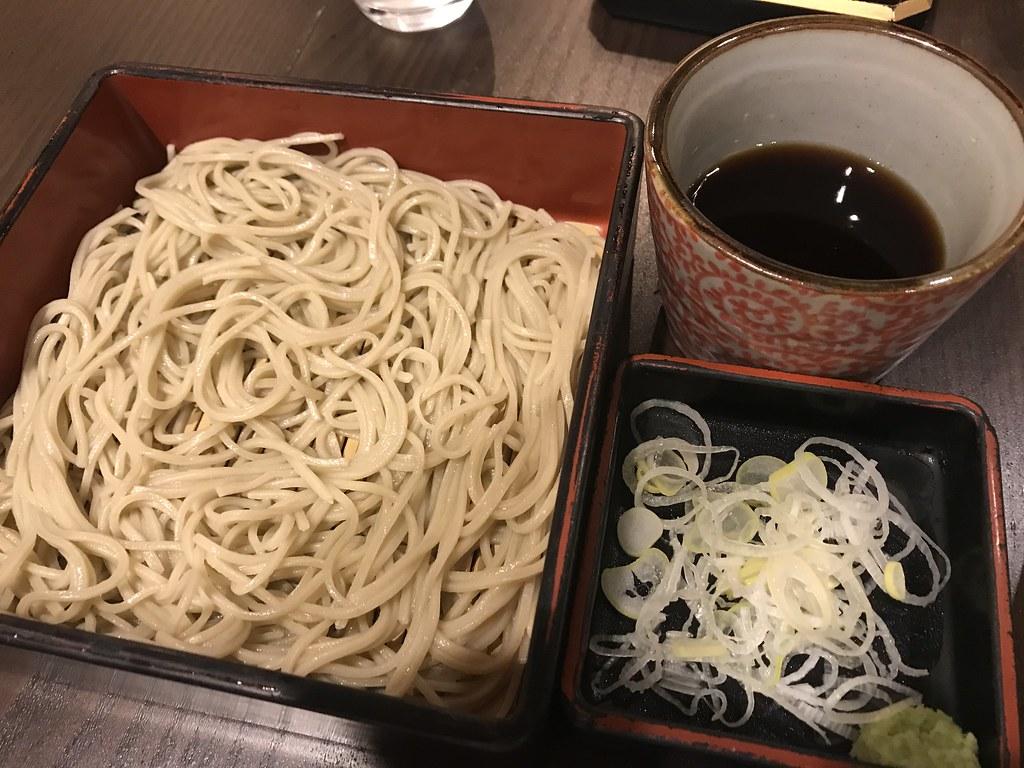 Soba noodles @Soba-Restaurnat Hakuan, Tokyo