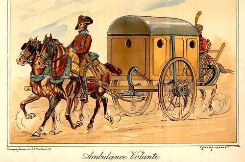 Ambulancia y triaje, inventos de Dominique-Jean Larrey