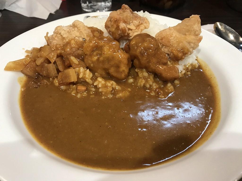 Fried chicken curry on rice  @Coco-Ichibanya, Tokyo