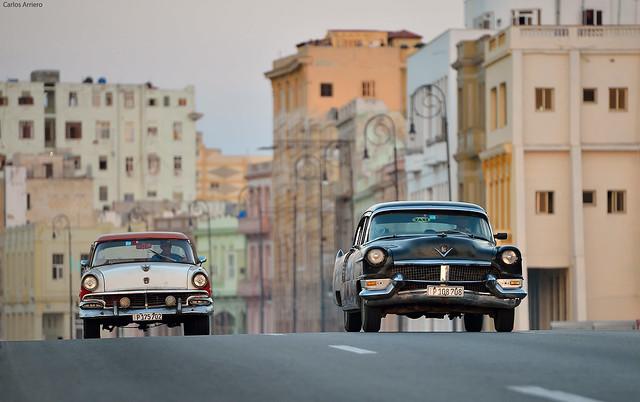 Cuba cars (Havana).