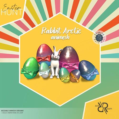[Rezz Room] Rabbit Arctic Animesh Easter Gift