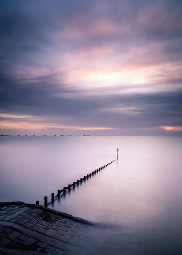 aberdeen aberdeenbeach landscape longexposure groyne water scotland sea sunrise sunset ocean outdoor outside