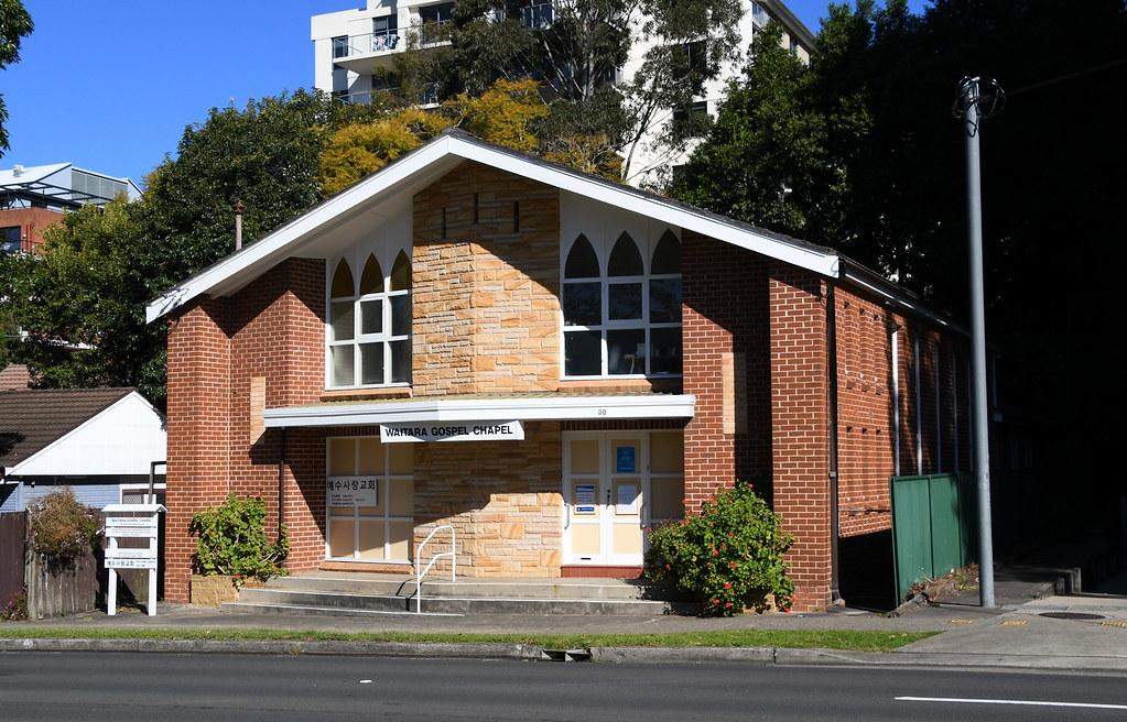 Waitara Gospel Chapel, Waitara, Sydney, NSW.