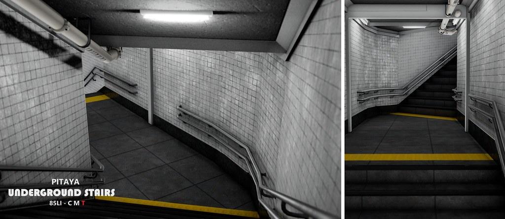Pitaya – Underground Stairs:  Access event