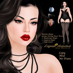 """Lupus Femina"" Bonita Shape - Genus Strong W002"