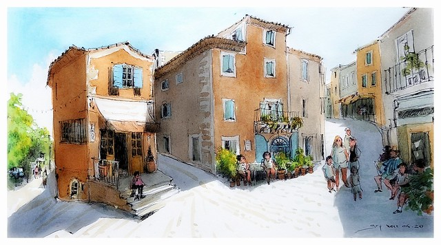 Ménerbes - Provence - France