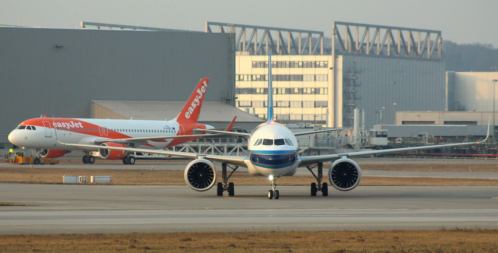 China Southern Airlines, B-8672, MSN 7449, Airbus A 320-271N, 09.02.2017, XFW-EDHI, Hamburg Finkenwerder