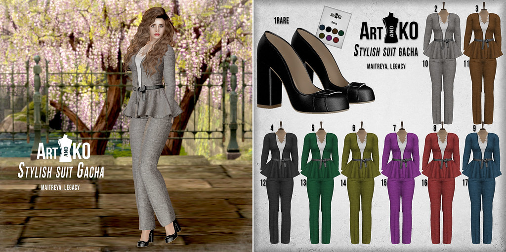 Art&KO – Stylish suit GACHA – VANITY EVENT