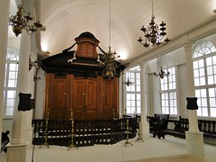Dutch style synagogue from Surinam, Israel Museum