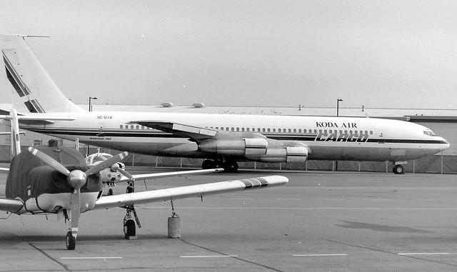 3C-GIG Boeing 707 373C Koda Air Cargo