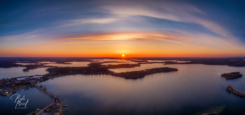 april mavic dawn drone lake minnetonka sunrise mound minnesota unitedstatesofamerica mavic2pro