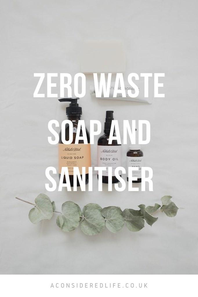 Zero Waste Soap and Sanitiser