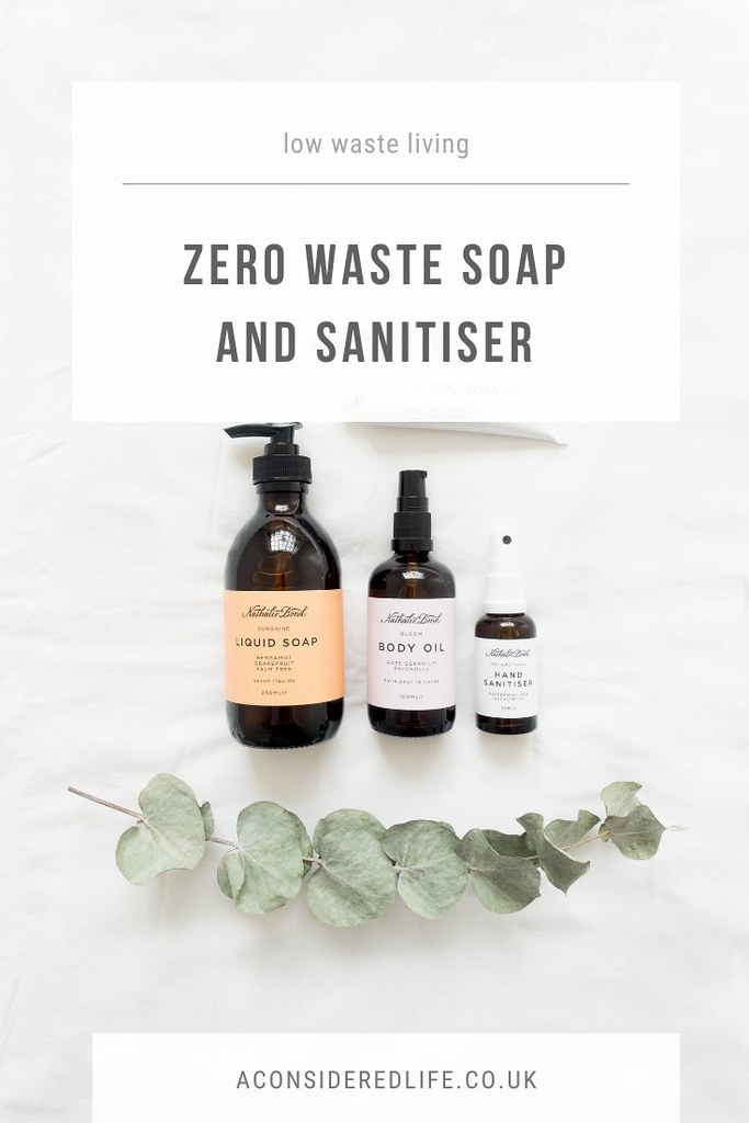 Zero Waste Soap and Sanitiser