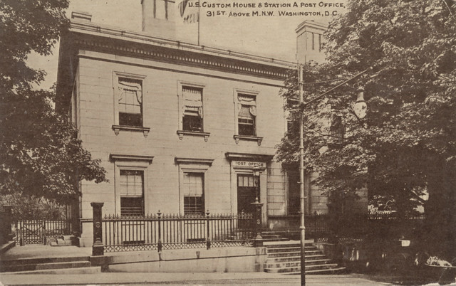 Georgetown Post Office and Custom House (c. 1912)