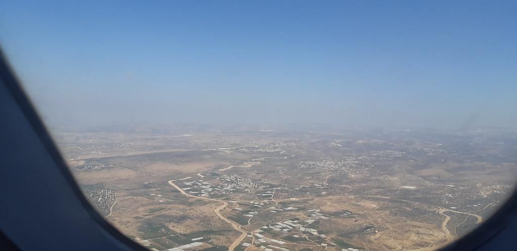 FLYING OVER ISRAEL