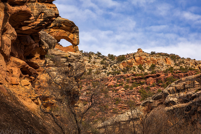 La Sal Creek Arch