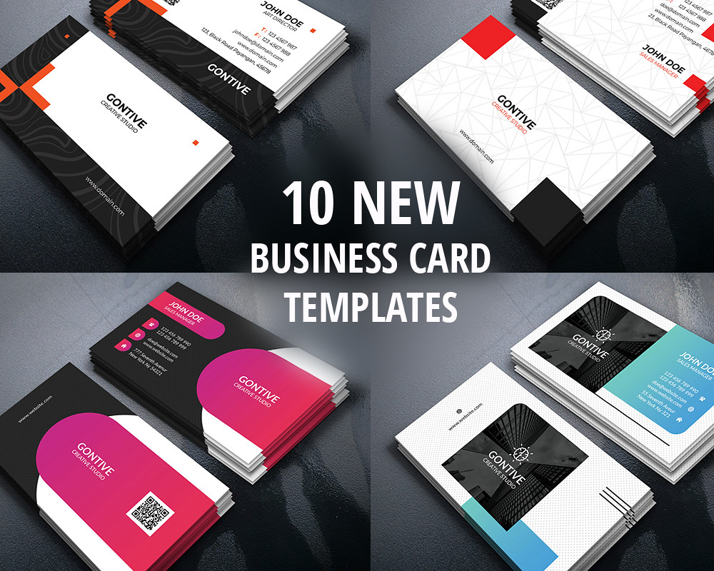 10 New Modern Business Card Design