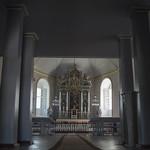 Alsungas Sv. Miķeļa Romas katoļu baznīcas interjers, 29.07.2019.