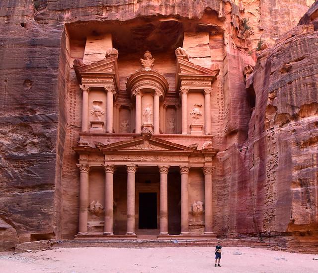 The Threasure, Petra, Jordan, June_2019_246